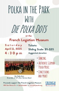 Polka in the Park with Die Polka Dots Poster--WEB VERSION